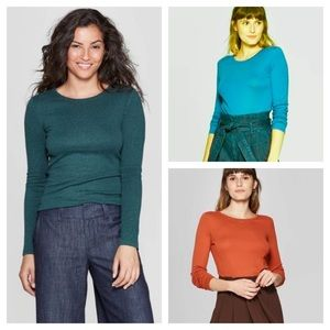 Long sleeve T-shirts - Bundle of 3. Size xsmall